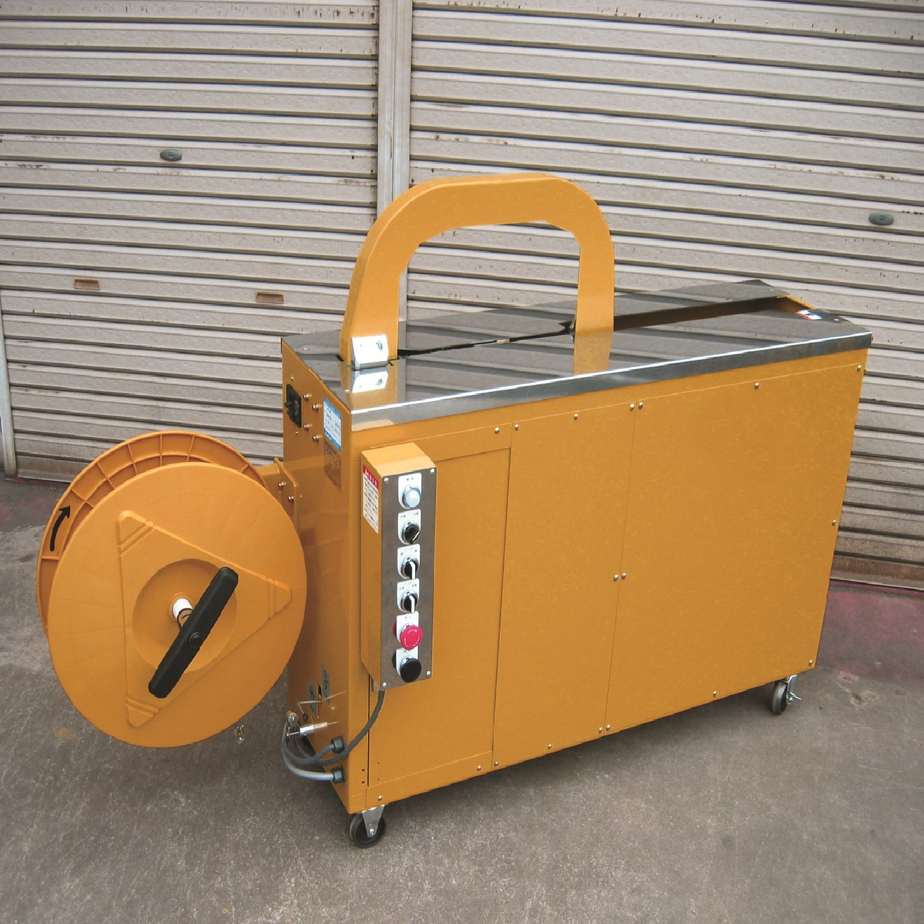 AQ-7RS Automatic Strapping Machine